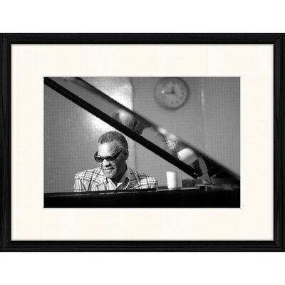 LivCorday Ray Charles at the Piano Framed Photographic Print