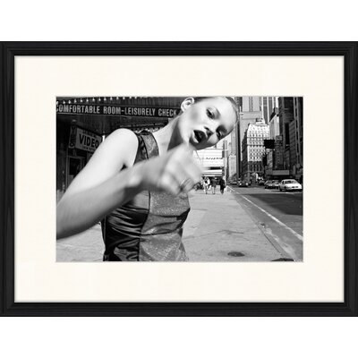 LivCorday Kate in the Big Apple Framed Photographic Print