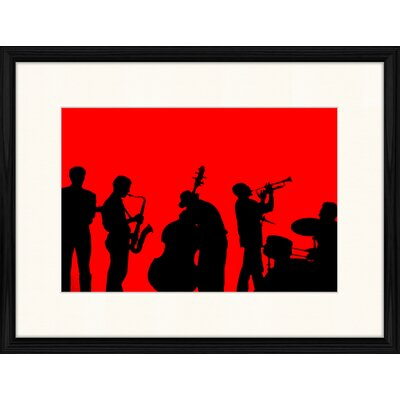 LivCorday Jazz Compostion 10 Framed Graphic Art