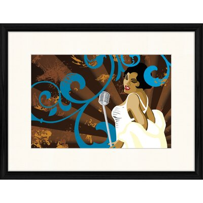 LivCorday Jazz Compostion 7 Framed Graphic Art