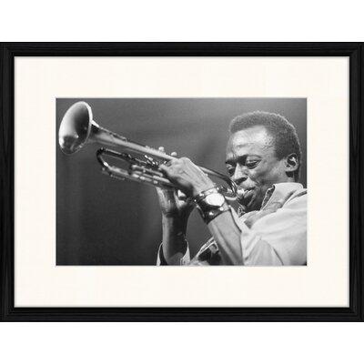 LivCorday Miles Davis - Full Nelson Framed Photographic Print