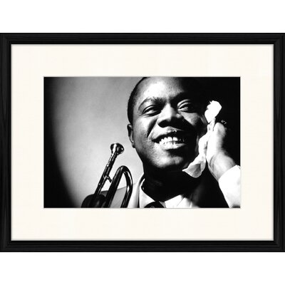 LivCorday Louis Armstrong Framed Photographic Print