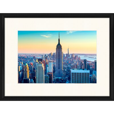 LivCorday Empire State Building View 3 Framed Photographic Print