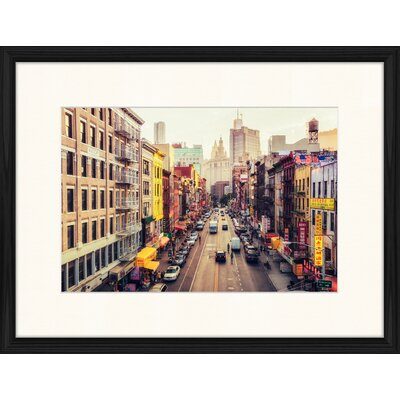 LivCorday The Big Apple 3 Framed Photographic Print