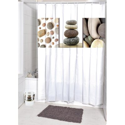 Belle Ile Printed Shower Curtain