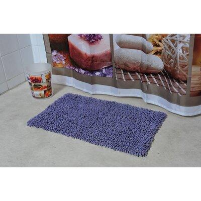 Soft Shaggy Loop Bath Rug Color: Lavender