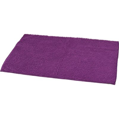 "Soft Luxurious Ball Bath Rug Color: Purple, Size: 24"" x 36"""