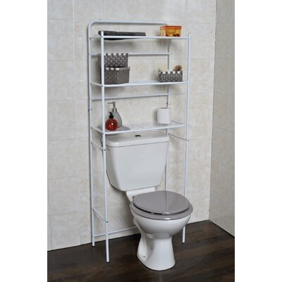 "23.7"" W x 59.6"" H Over The Toilet Storage"