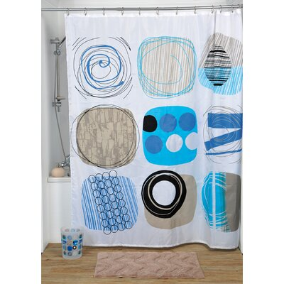 Street Art Printed Shower Curtain