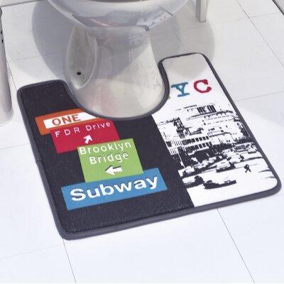Urban NYC Printed Contour Mat