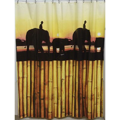 The Island Shower Curtain