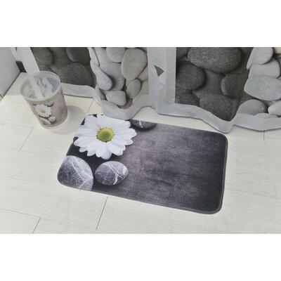 Zen Garden Printed Microfiber Bath Rug