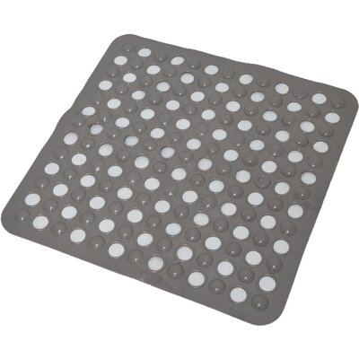 Non Skid Suction Shower Mat Color: Taupe