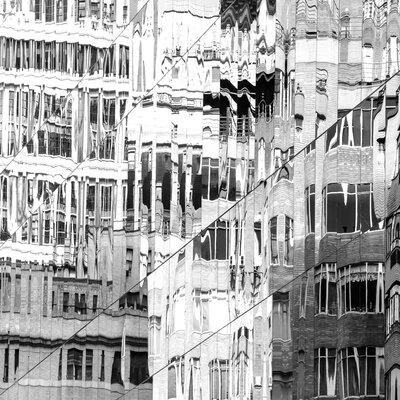 David & David Studio 'Reflets De New York 1' by Laurence David Framed Graphic Art