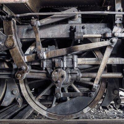 David & David Studio 'Black Train 1' by Philippe David Framed Photographic Print
