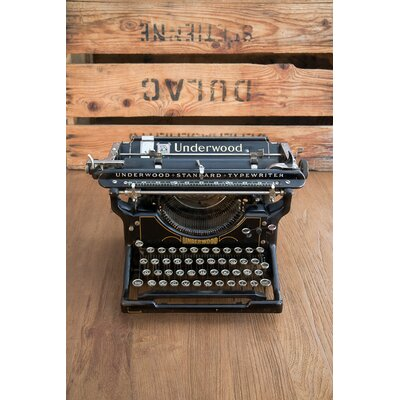 David & David Studio 'Type Writer 2' by Laurence David Photographic Print