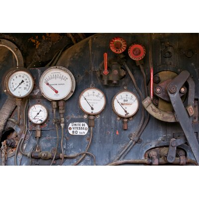 David & David Studio 'Locomotive 1' by Philippe David Framed Photographic Print