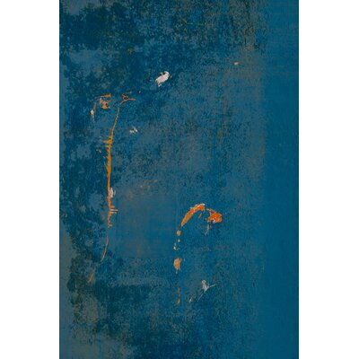 David & David Studio 'Blue, Orange 2' by Laurence David Graphic Art