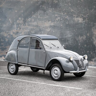David & David Studio '2 Cv' by Philippe David Framed Photographic Print