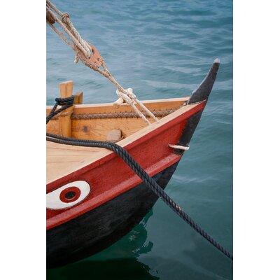David & David Studio 'Small Boat Color 2' by Laurence David Framed Photographic Print