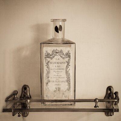 David & David Studio 'Perfume Bottles and Glass 5' by Laurence David Framed Photographic Print