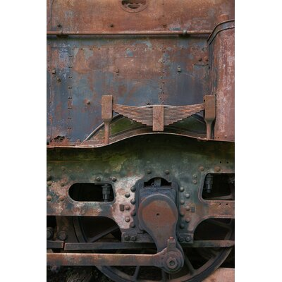 David & David Studio 'Locomotive 4' by Laurence David Framed Photographic Print