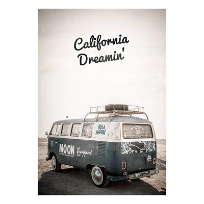 David & David Studio 'California Dreamin' by Flora David Framed Graphic Art