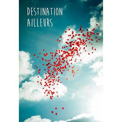 David & David Studio 'Destination Ailleurs' by Flora David Framed Graphic Art