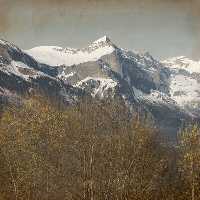 David & David Studio 'Mountain 2' by Laurence David Framed Photographic Print