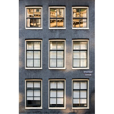 David & David Studio 'Black Brick Front 2' by Philippe David Photographic Print on Canvas