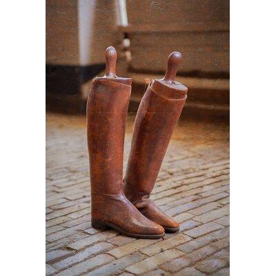 David & David Studio 'Boots Rider 1' by Laurence David Framed Photographic Print