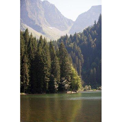 David & David Studio 'Mountain Lake 1' by Philippe David Framed  Photographic Print
