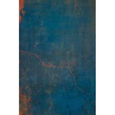 David & David Studio 'Blue, Orange 1' by Laurence David Graphic Art