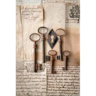 David & David Studio 'Keys 2' by Laurence David Framed Photographic Print