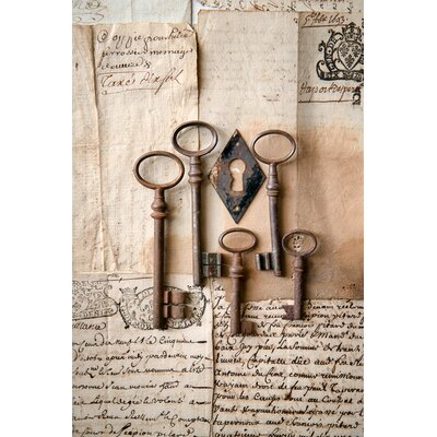 David & David Studio 'Keys 2' by Laurence David Photographic Print