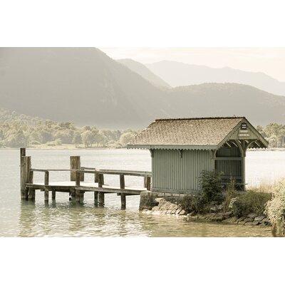David & David Studio 'End of Lake 1' by Philippe David Framed Photographic Print
