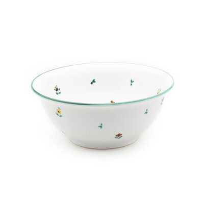 Gmundner Keramik Salatschüssel Streublumen