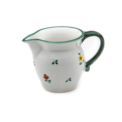 Gmundner Keramik 300 ml Milchkännchen Streublumen