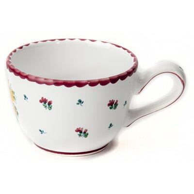 Gmundner Keramik Kaffeetasse Biedermeier