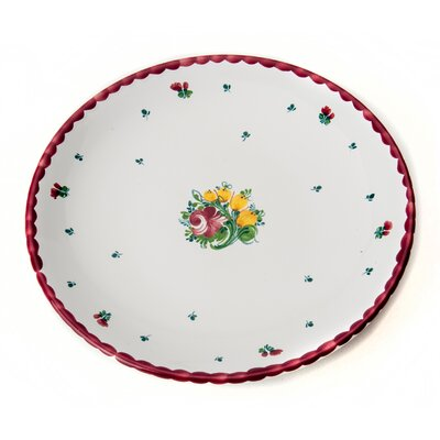 Gmundner Keramik 20 cm Dessertteller Biedermeier