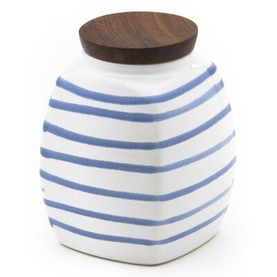 Gmundner Keramik Gewürzdose Geflammt mit Holzdeckel