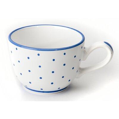 Gmundner Keramik Kaffeetasse Tupferl
