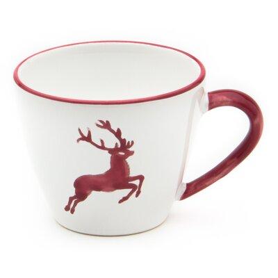 Gmundner Keramik Kaffeetasse Gourmet Hirsch