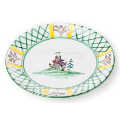 Gmundner Keramik 20 cm Dessertteller Jagd