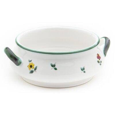 Gmundner Keramik 370 ml Suppenschale Streublumen
