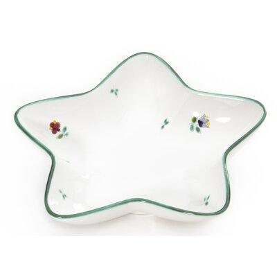 Gmundner Keramik Sternschale Streublumen