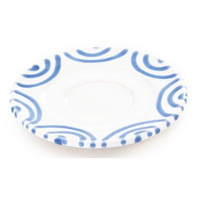 Gmundner Keramik 11 cm Unterteller Espressotasse Geflammt