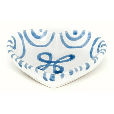 Gmundner Keramik Herzschale Geflammt