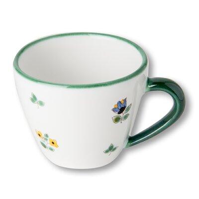 Gmundner Keramik Cappuccinotasse Streublumen