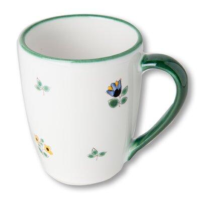 Gmundner Keramik 0,2 L Frühstücksbecher Streublumen